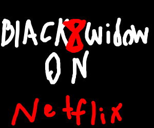 NETFLIX BLACK WIDOW SPIDER