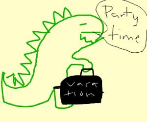 Dinosaurus on ibiza