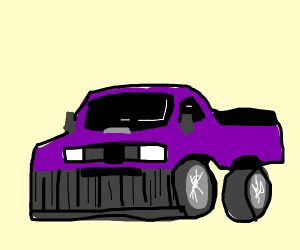 It's the Thanos Car
