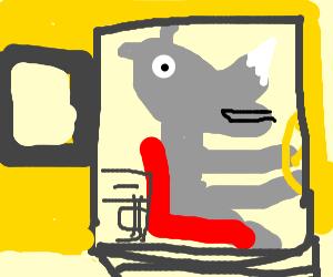 Rhinoceros Bus Driver