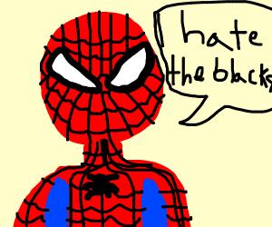racist spiderman