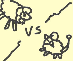 wooloo vs mareep (pokemon)