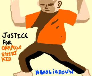 How To Draw Orange Justice