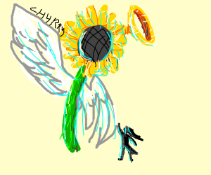 The Holy Sunflower!