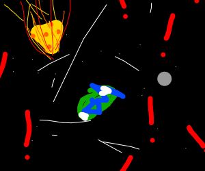 BIG CHEEZ METEOR IS GOING TO SMASH EARTH