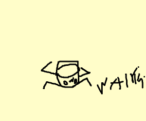 Cuphead characters crab walkinh