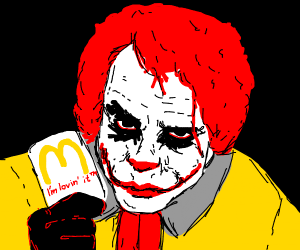 oh yes the mcdonald man