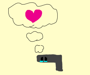 Gun just wants to be loved
