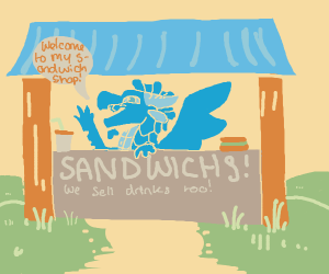 Welcome to my sandwich shop!