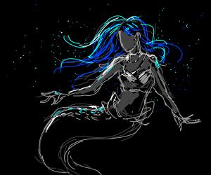 the little mermaid if she got blue hair