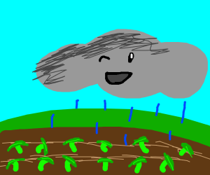 watering your crops