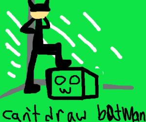 Greenscreen Batman