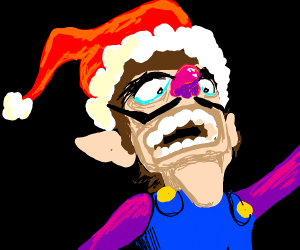 WAAAAH (Merry Christmas from Waluigi)