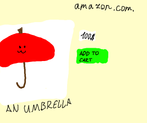 Umbrella on Amazon