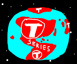 T-series takes over earth