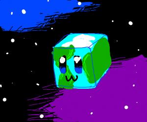 Cube earth UwU
