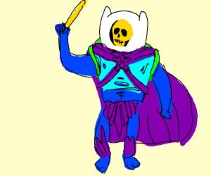 Skeletor is now Finn
