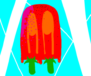 Popsicle (Strawberry Flavored?)