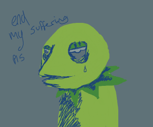 Kermit's crippling depression