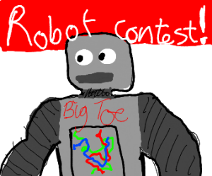 robot big toe