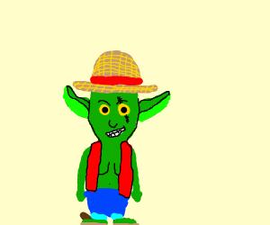 Goblin wearing a Hat