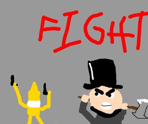 Lincoln vs Mustard