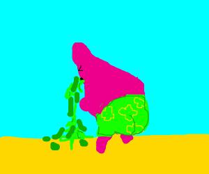 Patrick Star vomiting