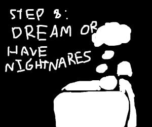 Step 7: Sleep