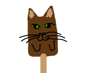 fudge pop kitty