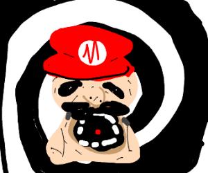 Person had too many mushrooms