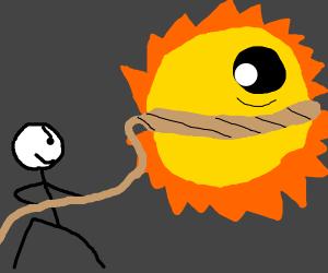 Some Bucko Lassos The Sun Yall!