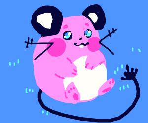 A mouse Pokymon