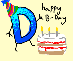 happy birthday drawception