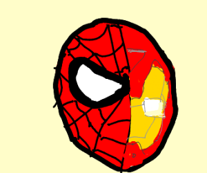 Spiderman = Iron Man
