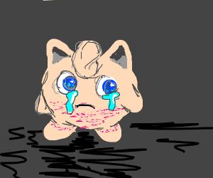 Jigglypuff is sad
