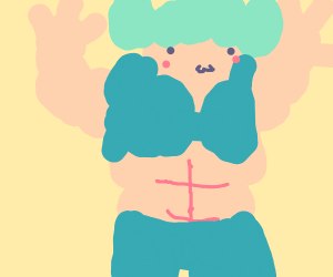 Cute Muscle girl dokidoki
