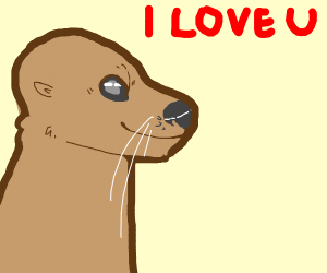 Otters shouldn't be able to talk!