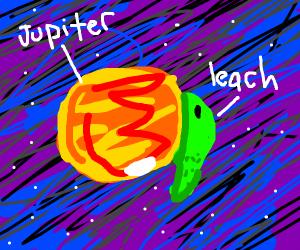 Jupitar space leech