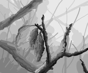 depressing leaf