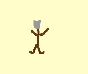 Shovel with arms and legs