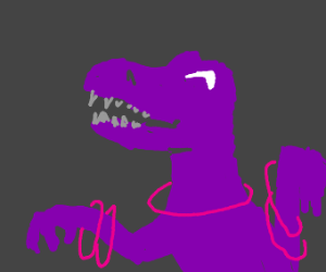 Purple raptor rave