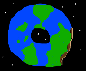 The earth is a donut