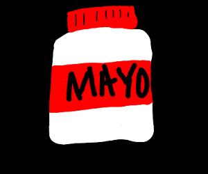 A jar of Mayo