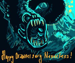 Underwater monster
