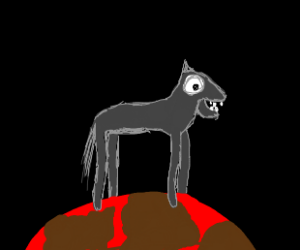 Tall Pony on Mars