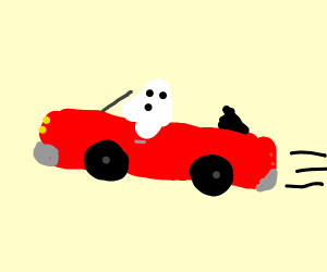 Ghost ride the whip!!!