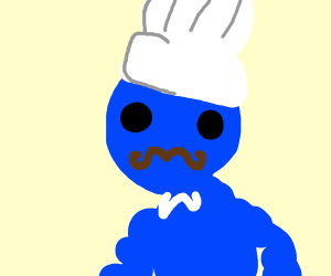 hypnoized buff blue chef