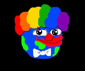 Clown world.