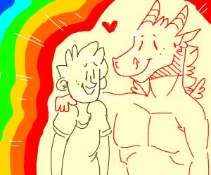 A Gay Dragon & His Boyfriend