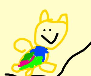 Tropical Winnie the Pooh